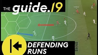 HOW TO DEFEND ATTACKING RUNS AND THROUGH PASSES | Early Player Switches | FIFA 19 DEFENSE TUTORIAL