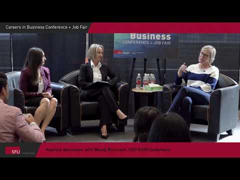 Careers in Business Conference: Wendy Bennison, CEO, SAXX