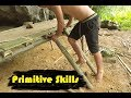 Primitive Technology: Ladder Made of Bamboo