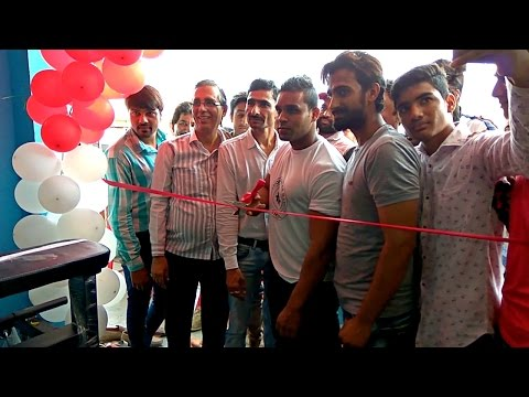 Opening New Gym in Jawra By Naved Khan