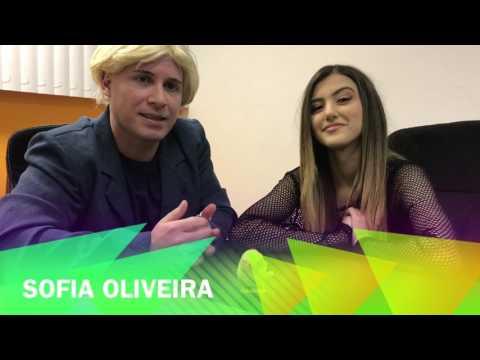 Guguzinho com a Sofia Oliveira