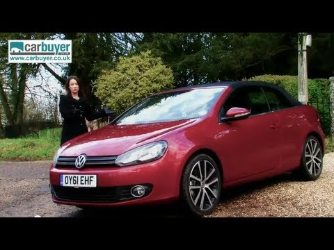 Volkswagen Golf Cabriolet (convertible) review - CarBuyer