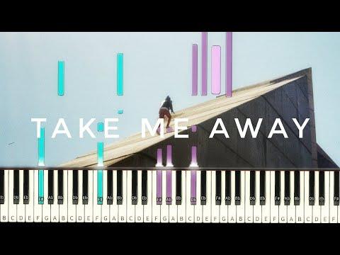 Daniel Caesar - Take Me Away (feat. Syd) [#reggiewatkins piano synthesia tutorial]