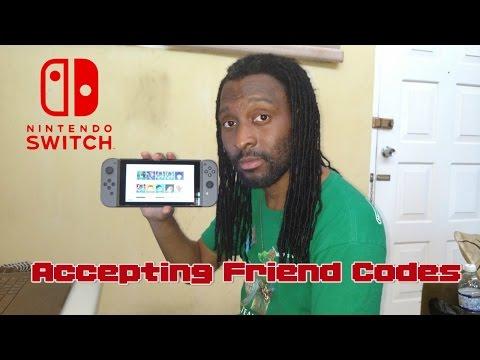 Nintendo Switch Friend Code and Internet Update