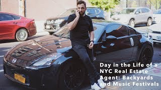 Day in the Life NYC Real Estate Agent: Backyards and Music Festivals