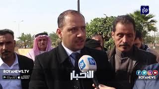 موظفو سكة حديد العقبة يعتصمون للمطالبة بحقوقهم