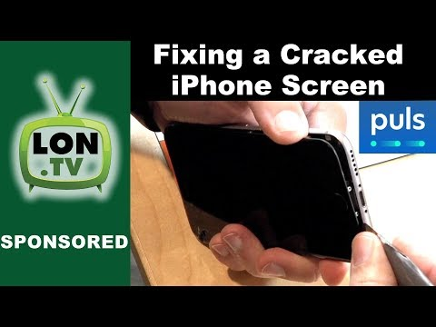 How to Repair a Cracked iPhone Screen - Sponsored by Puls.com Cell Phone Repair Service