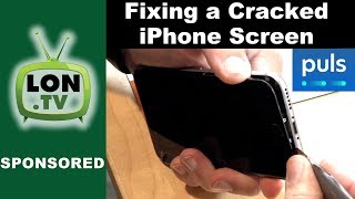 Repairing a Cracked iPhone Screen - Sponsored by Puls.com Cell Phone Repair Service