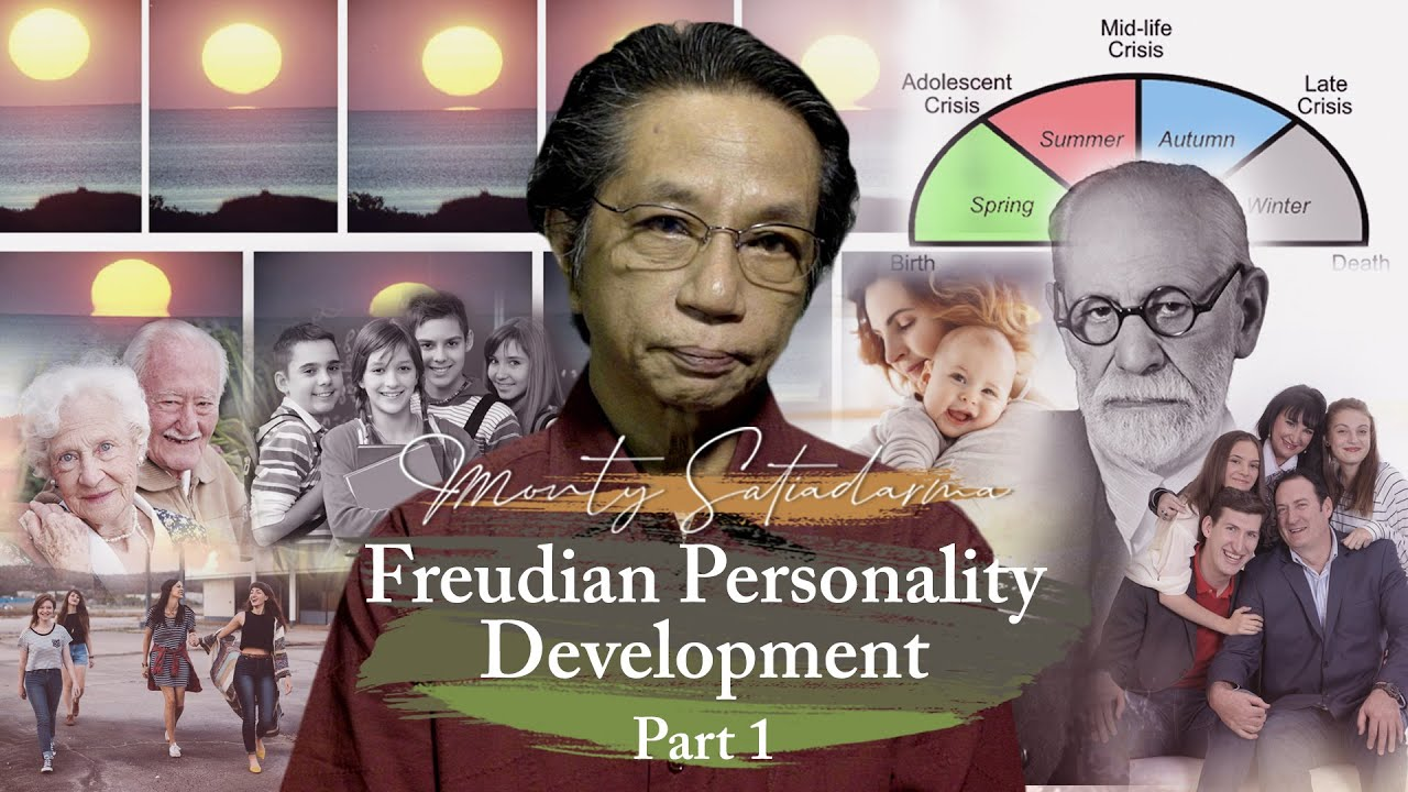 """Freudian Personality Development"" Monty Satiadarma   S2 E8 Part 1"