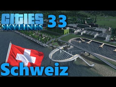 S04#033 - Jachthafen Grobentwurf   Lets Play Cities Skylines Snowfall   [HD, German]