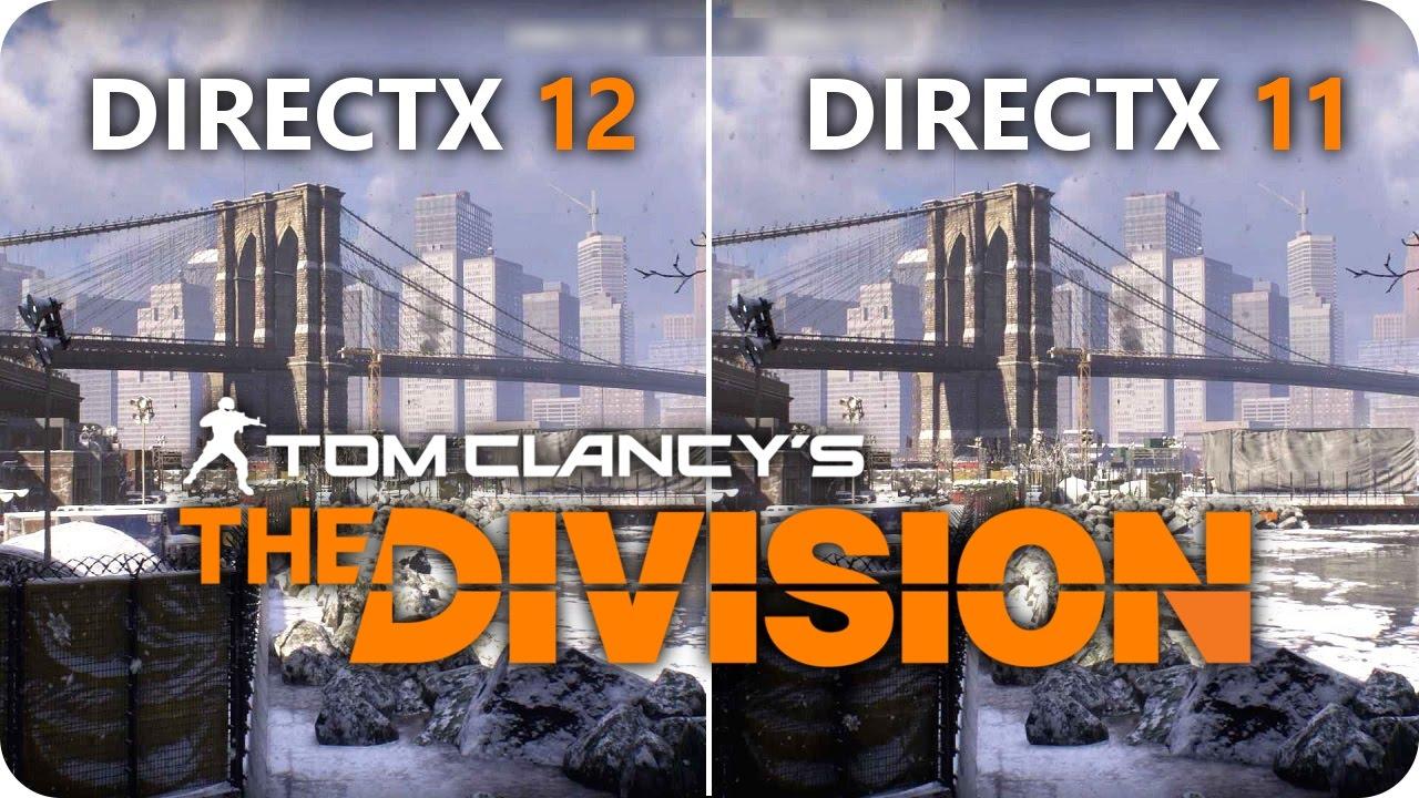 THE DIVISION DirectX 12 vs DirectX 11 | GTX 1070 Frame Rate Comparison