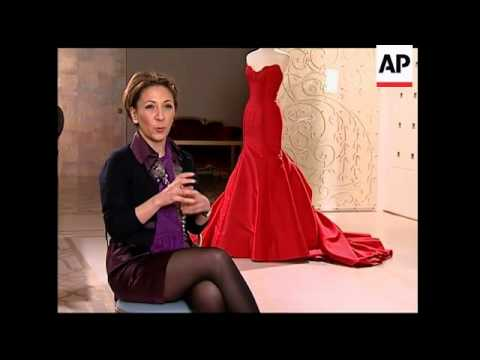 58a0bd1e0 Reem Acra gets her inspiration from a doll - YouTube