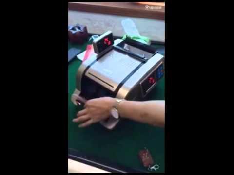 Short changing Chinese money counting machine