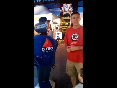 """OSCAR the Robot""-CITGO @ BUC Days Carnival 2014"