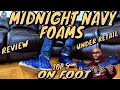 """FOAMPOSITE ONE """"MIDNIGHT NAVY"""" UNDER RETAIL UNBOXING 