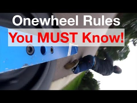 Onewheel Nosedive Highlights & 5 Rules That Will Save You!