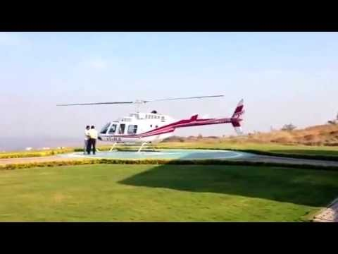 Fly Cochin to Munnar By Helitaxi service - Chipsan Aviation  Munnar Helicopter Service