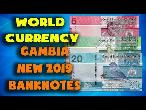 Currency Of The World - Gambia. New Gambian Banknotes 2019. Gambian Dalasi 2019