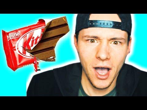 EATING CHOCOLATE BARS THE WRONG WAY | Dale Pendlebury