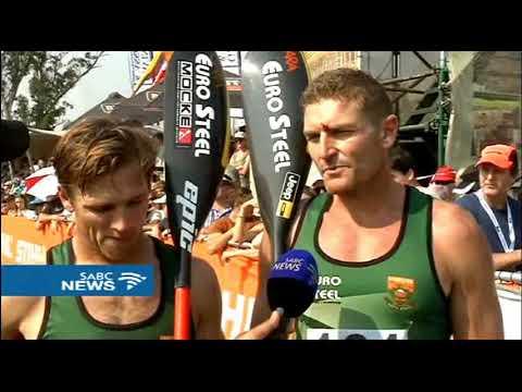 Hank McGregor wins gold at the ICF Canoe World Marathon Championships
