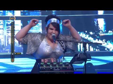 Netta Barzilai 'Hey Mama' LIVE Israel 04.01.18 - Eurovision 2018 David Guetta נטע ברזילי - היי מאמא