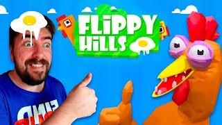 ЧЕЛЛЕНДЖ мальчики против девочек Flippy hills game Challenge игра для детей летсплей Мы играем