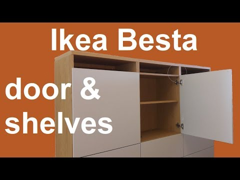 ikea-besta-shelves-and-door-assembly-and-adjustment