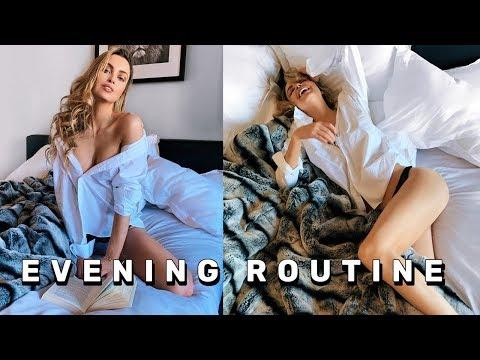 REALISTIC EVENING ROUTINE 2019   LA   EMMA MILLER