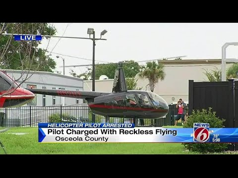 Pilot charged with reckless flying