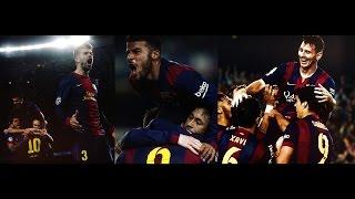 FC Barcelona - Som un Equip !!! 2015 HD