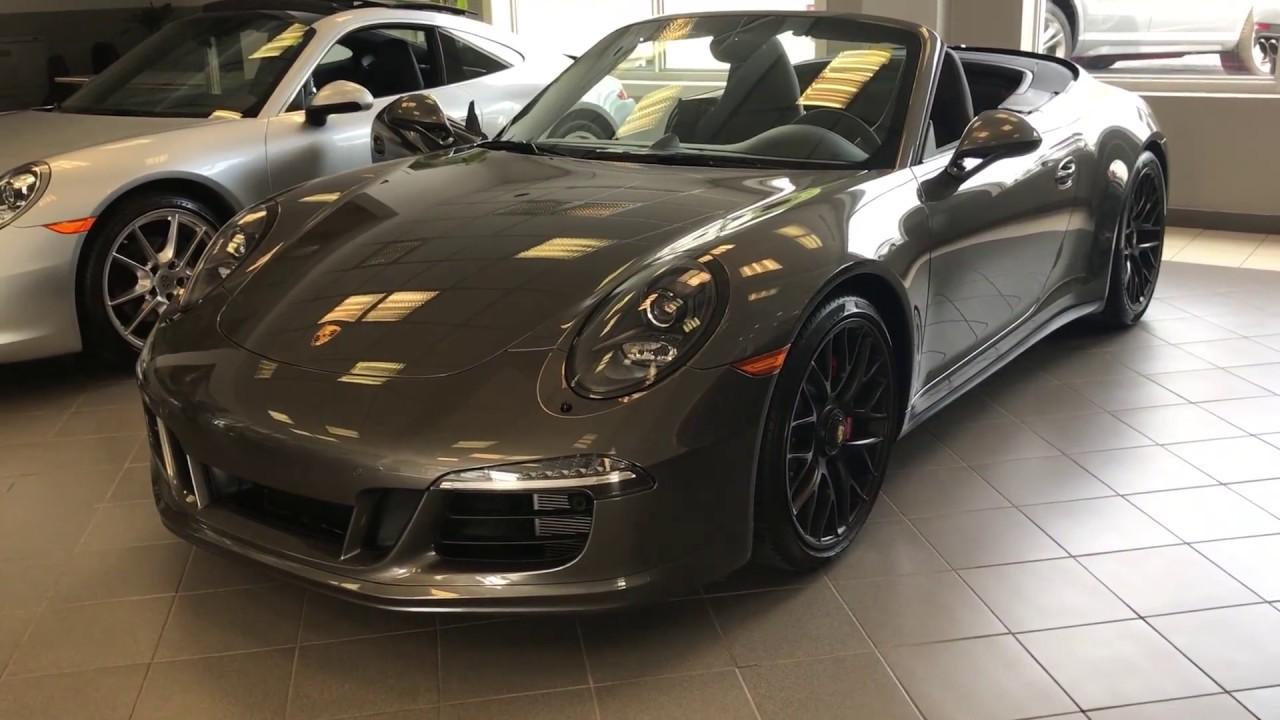 2016 porsche 911 carrera 4 gts cabriolet youtube. Black Bedroom Furniture Sets. Home Design Ideas