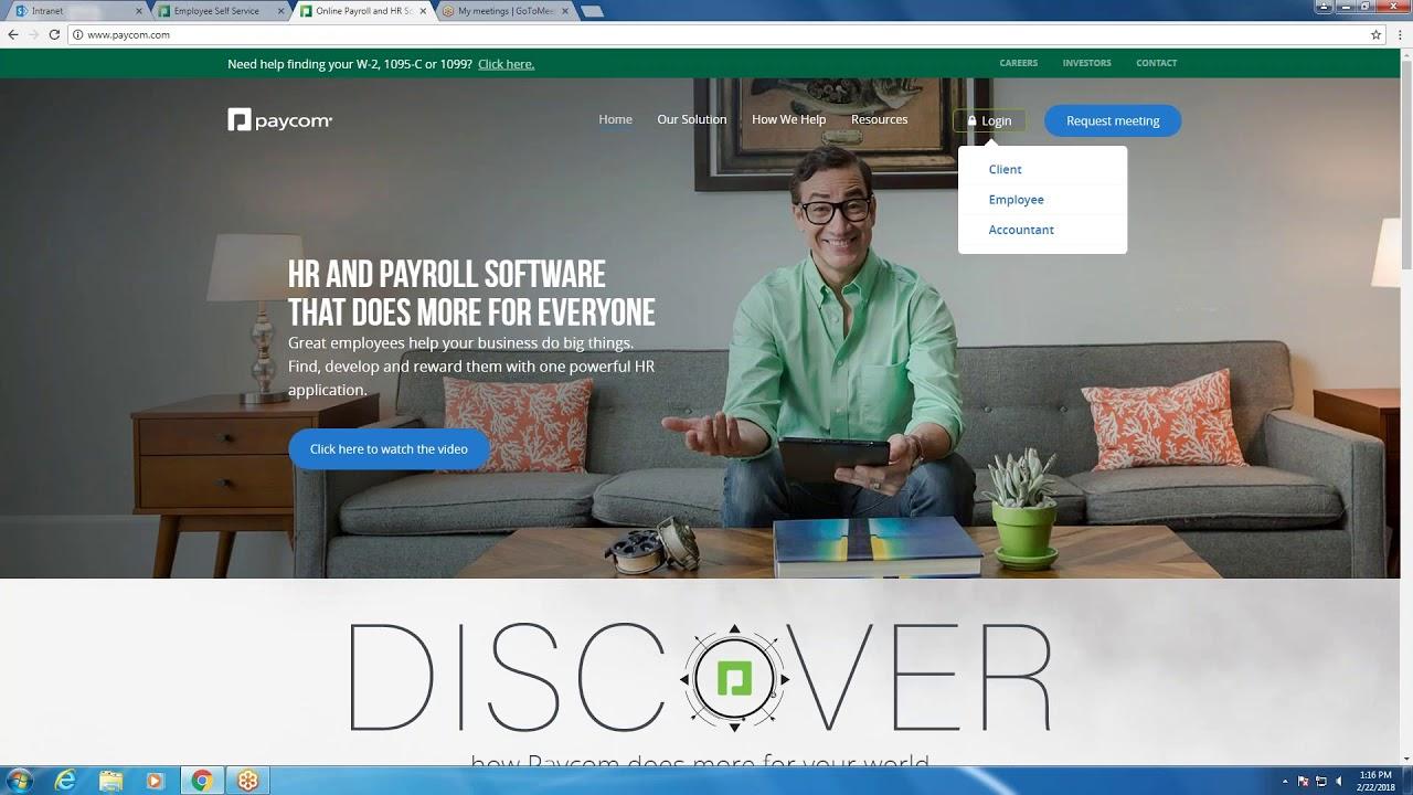 Paycom Online Client Login