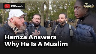 Hamza Answers Why He Is A Muslim
