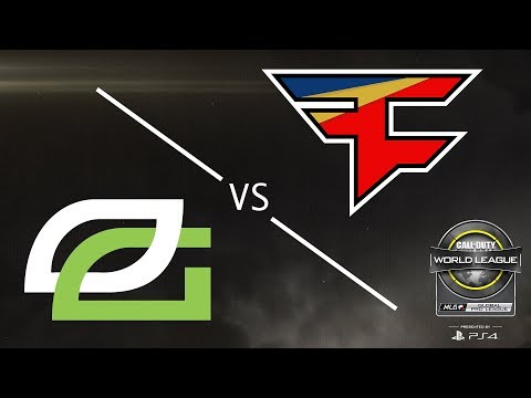 OpTic Gaming vs FaZe Clan - CWL Global Pro League Stage 2 Playoffs - Day 2
