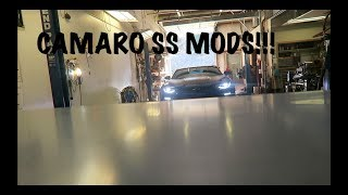 The Perfect Camaro Mods For Spring!! 2016 Camaro SS