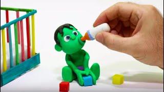 Download lagu QUÉ MONO ES EL SUPERHÉROE BEBÉ Dibujos Animados para niños y bebés!!! 💚 dibusYmas