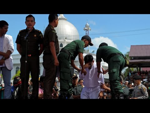 Indonesia's Aceh to stop whipping criminals in public: officials