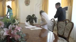 Церемония регистрации брака в отделе ЗАГС администрации г. Хабаровска