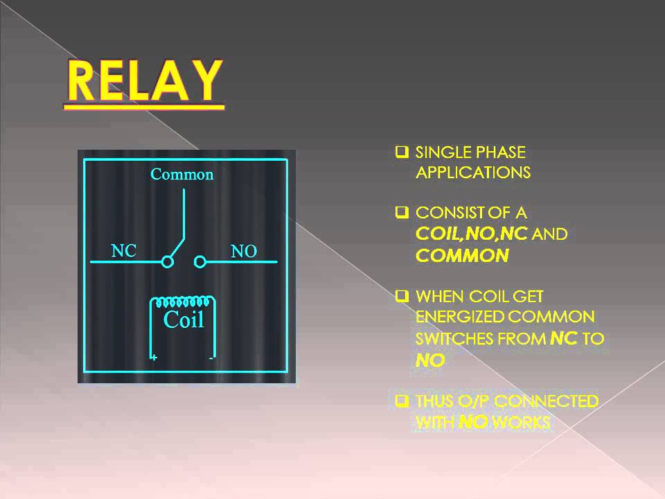 Difference Between Relays And Contactor