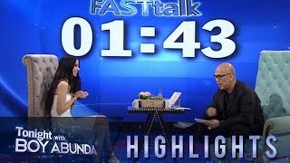 TWBA: Fast Talk with Maxene Magalona-Mananquil
