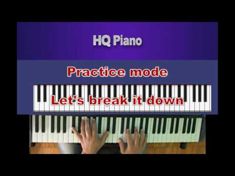 She -  Elvis Costello | Piano Tutorial