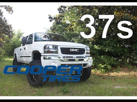 Lifted Duramax on 37's! (Cooper Discoverer STT PRO)
