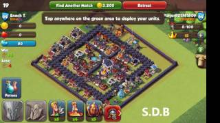 Top 10 wall defender in Total conquest and also clash of clans in windows phone.