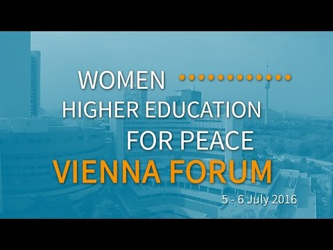 Vienna Forum: Getting involved for Peace