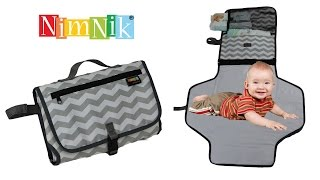 Portable Baby Nappy Changing Mat, NimNik Diaper Changing Station
