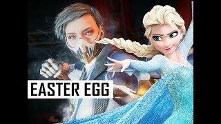 FROZEN ELSA Easter Egg with FROST in Mortal Kombat 11 (MK11 Gameplay)