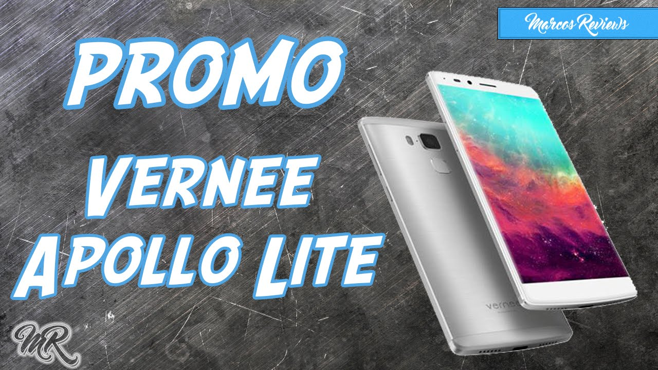 Vernee Apollo Lite | Promo+Descuento | Marcos Reviews - YouTube