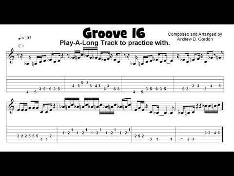 "Funky Guitar Groove from the upcoming book ""100 Ultimate Soul, Funk and R&B Grooves for Guitar"""