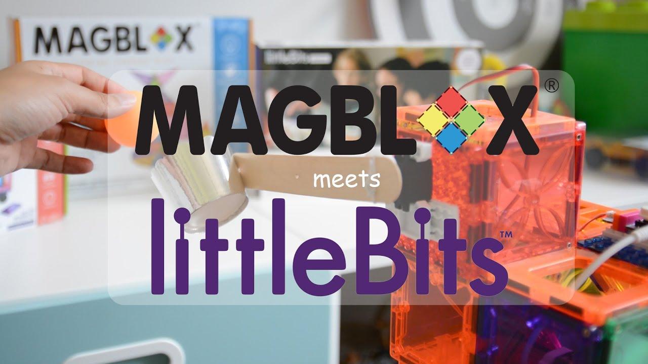 MAGBLOX MEETS LITTLE BITS