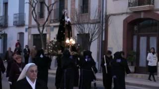 Banda tt y cc Villa de Monteagudo, Procesión de Viernes Santo, Pregonero